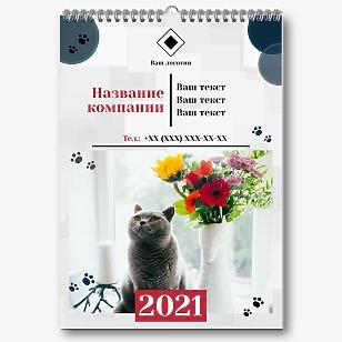 Шаблон календаря ветеринарной клиники