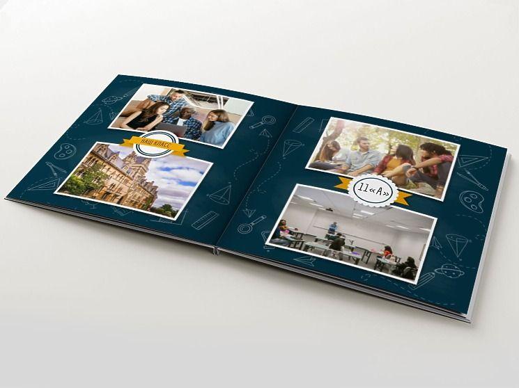 Выпускные панорамные фотокниги
