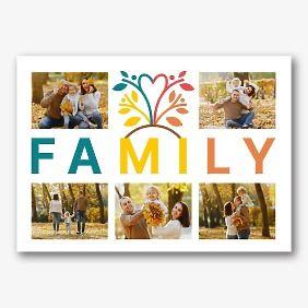 Шаблон семейного холста