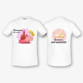 Шаблон футболки с рисунком