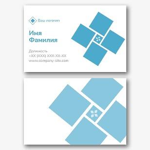 Шаблон визитки укладчика плитки